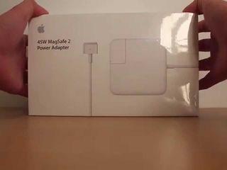 Bloc de alimentare Original MagSafe 2 45W Power Adapter- Зарядки для макбука,оригинальные