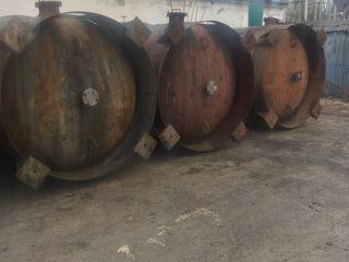 Акратафоры эмалированные 16.0 куб/м для игристых и шампанских вин