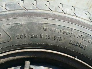 Запасное колесо - Диск R15 + резина. 5*112.