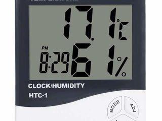 Настольные/настенные  часы-метеостанция.  Можно подвесить на косяк двери или полку, либо поставить н