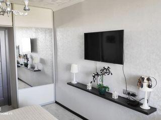 Apartament cu 3 odai in Stauceni, 55 m2, euroreparatie. Mobila si tehnica. Zona verde. 41 900 €