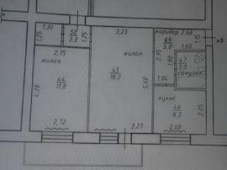 3-комн. квартира, город Тирасполь, район Балка, ул. Юности.