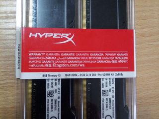 16GB DDR4 (Kit of 2*8GB) Kingston HyperX FURY