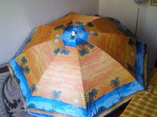 Зонтик новый пляжный, стандарт ,диаметр 165 см,