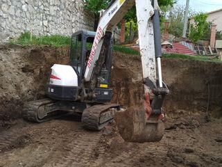 Vind mini excavator Bobcat
