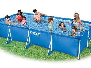 28273 каркасный бассейн rectangular frame 450х220х84см