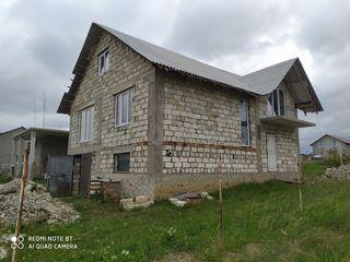 Дом интересной планировки в два уровня