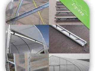 Универсальное крепление для тепличной плёнки и затеняющей сетки.