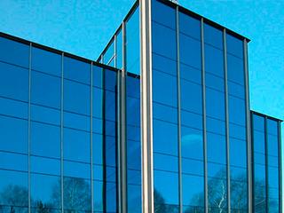 Отделка фасадов с композитным материалом