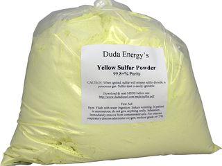 Sulf (funghicid) pentru pastrarea poamei in frigider si alte activitati.