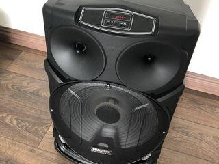 Boxa activa  ,acustica cu baterie