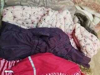 Куртки для девочки 1,5 - 5 лет в идеальном состоянии