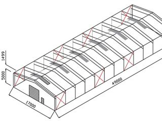 Бесплатно проектируем металлоконструкции: ангары, склады, холодильники, фермы, автосервисы, магазины