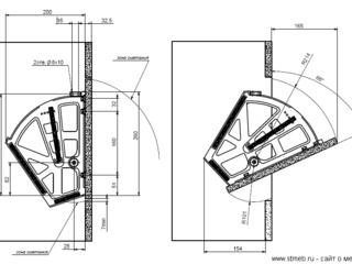 2х-3х рядные механизмы под обувь