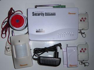 GSM сигнализация. Для квартиры, дома,склада и др.