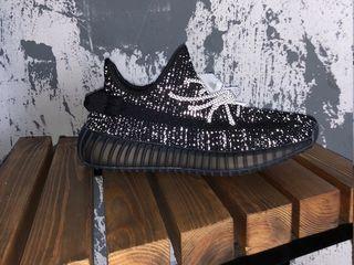 Adidas Yeezy 350 V2 Static Reflective Black Unisex