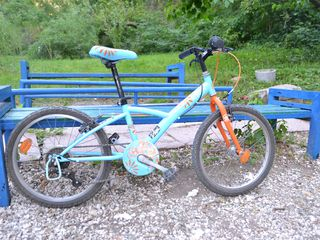 Велосипед детский BTwin Mistigirl 6-8 лет