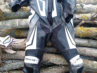 Costum piele moto