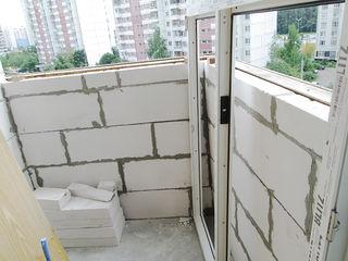 Балконы под ключ . Расширение балконов, кладка, ремонт балконов, балконы, остекление балконов.