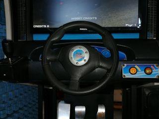 Очень дорогой подарок вашему любимому ребенку детский игровой автомат-симулятор автогонок 1500 евро.