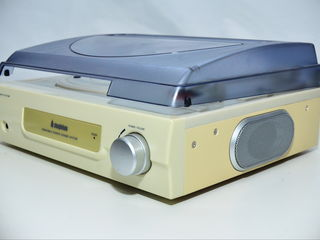 Новый Steepletone St918 3 Speed Record Player / Turntable White