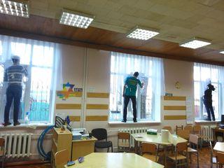 Spalare, geamuri, fatade, vitrine.Interior si exterior.Curatatorie chimica. Servicii de curatenie.