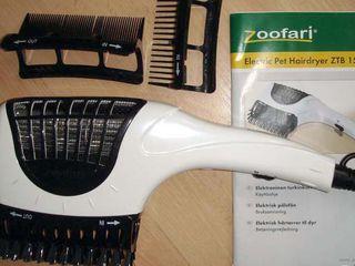 Фен zoofari для сушки и вычесывания животных