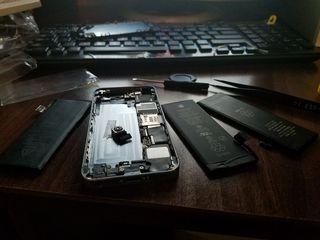 Запчасти на iPhone и Samsung и их замена