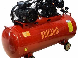 Компрессор 200l 4,1 кВт 550 Л/мин! Credit 0%! Гарантия 12 мес Доставка по Молдове! Brigadir