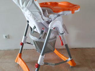 Scaun pentru mincare macaca good baby deluxe (orange)
