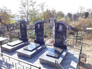 Monumente funerare  la Cheie.