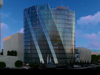 Уникальая коммерческая недвижимость в бизнес центре Infinity Tower от 39м2-282м2-партер!