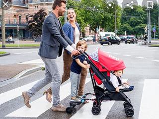 Подножка для коляски/ buggy board mini/suport pentru al doilea copil