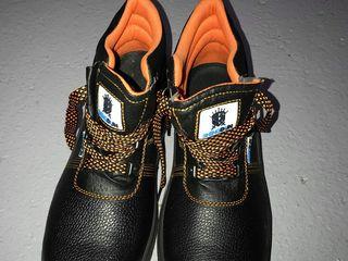 Ботинки защитные с металлическим подноском