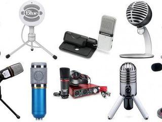 Новые микрофоны - скидки!