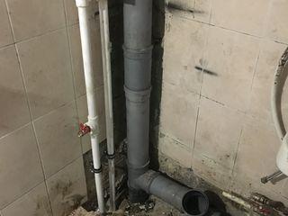 Сантехник професионал. instalator. замена труб воды и стояков канализации.