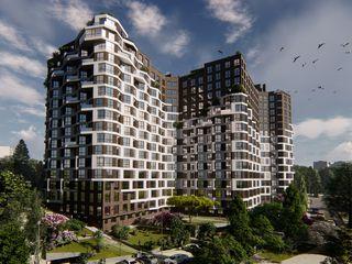 Квартиры в строящемся жилом комплексе Тестемицану! 1,2,4-х комнатные!