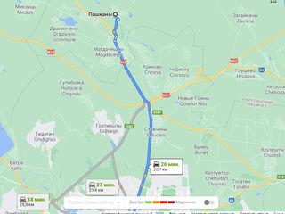 Vind doua terenuri pentru constructie in satul Pascani fiecare are cite 8 ari