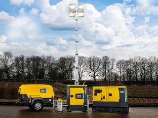 Оборудование  отделения энергетической техники atlas copco