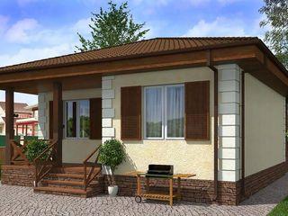 Строительство домов под ключ. Лучшая цена в Молдове!