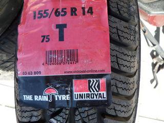 Vind un cauciuc nou Uniroyal 155/65 R14 / 500 lei