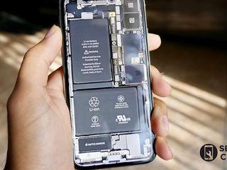 iPhone XS 256 GB  Bateria nu se încarcă? О vom înlocui fără probleme!