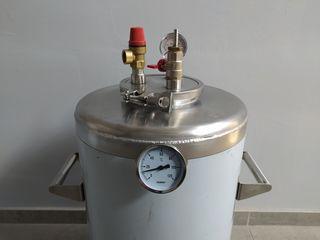 Автоклав для консервации из нержавеющей стали на 40 л