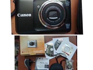 Canon Powershot A800 новый. Отличный фотоаппарат для начинающего фотографа