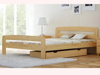 Paturi din lemn natural fabricat in Polonia. Livram gratis in orice colt al Moldovei!