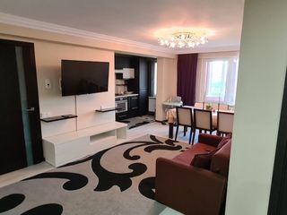 Apartament cu 2 camere + living, incalzire autonoma, Botanica, sos. Muncesti, Chișinău