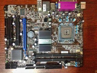 775 DDR3 MSI G41M-P26 Гарантия