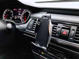 Incarcator auto Wireless automat, Держатель для телефона с беспроводной зарядкой