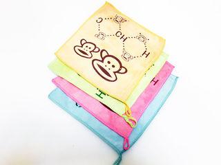 Детские салфетки махровые, весёлые, полотенца, силиконовые формы, evm-angro