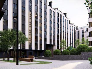 Penthouse in bloc nou, sec. Centru, 1000€ m.p..